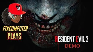"""Overwatch YouTuber Trying the """"1-Shot"""" Resident Evil 2 Demo!!! SCARY AF"""