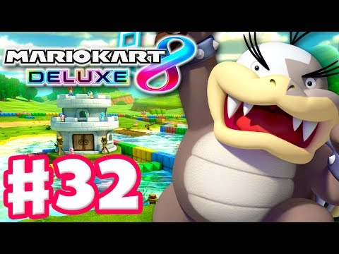 🍌 🏆⭐⭐⭐ Banana Cup 200cc! Morton! - Mario Kart 8 Deluxe - Gameplay Walkthrough Part 32