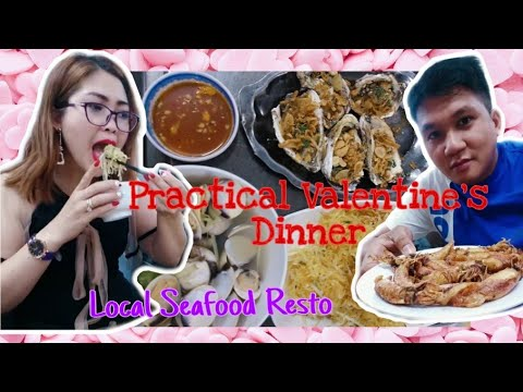 PART2   SIMPLE SEAFOOD DINNER ON VALENTINE'S EVE AT A LOCAL RESTO