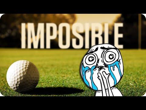 ¡EL HOYO IMPOSIBLE!   GOLF WITH FRIENDS Con Sara, Luh y Exo