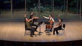MENDELSSOHN: String Quartet in F minor - ChamberFest Cleveland (2019)