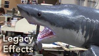 SHARK WEEK Behind The Scenes: Legacy Effects