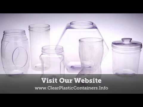 PET Clear Containers - Clear Containers Made of PET Material