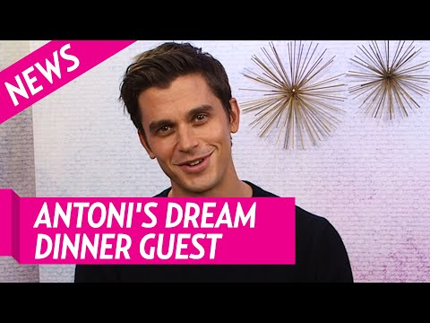 Queer Eye's Antoni Porowski Talks Dream Dinner Guest, New Year's Resolutions and More