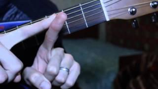 Обучение игре на гитаре с нуля. Баррэ.  Аккорд Fm