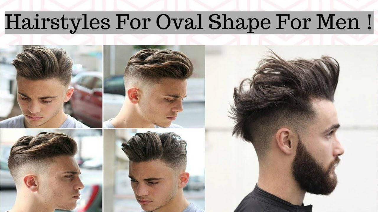 hairstyles for men with an oval face shape - stylish new haircut's