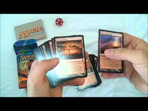 Magic The Gathering Fire & Lightning Unboxing