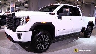 2020 GMC Sierra AT4 HD - Exterior and Interior Walkaround - 2019 NY Auto Show