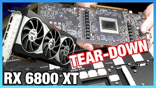 Tear-Down: AMD RX 6800 XT Disassembly & Quality Inspection