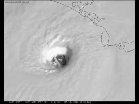 NASA focuses on movement of Hurricane Michaels eye from space