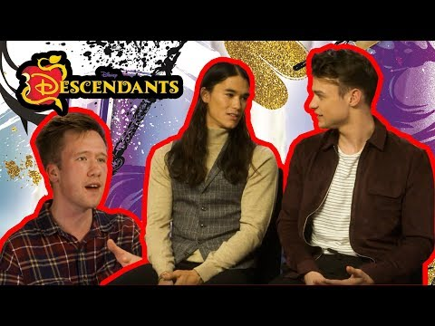 Thomas Doherty (Harry Hook) and Booboo Stewart (Jay) chat to Dan about Descendants 2!