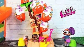 КУКЛЫ ЛОЛ СЮРПРИЗ МУЛЬТИКИ! КИНДЕР СЮРПРИЗ ДЕРЕВО для малышей ЛОЛ #куклы лол #lolsurprise