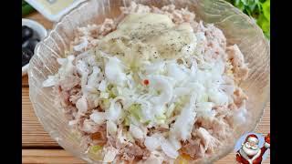 Новогодний салат Маска рецепт и фото