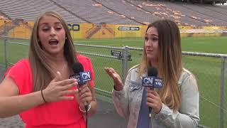 Video Brittany and Amanda talk ASU football download MP3, 3GP, MP4, WEBM, AVI, FLV November 2017
