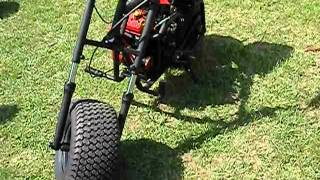 baja heat mini bike with v-TWIN