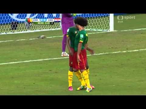Cameroon players fight Assou-Ekotto and Moukandjo