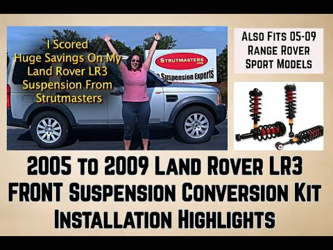 How To Fix The Front Suspension On A Land Rover LR3