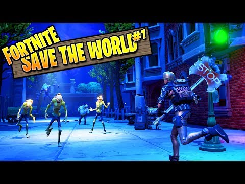 Fortnite Zombies || Save The World Episode 1 (Fortnite PvE Campaign)