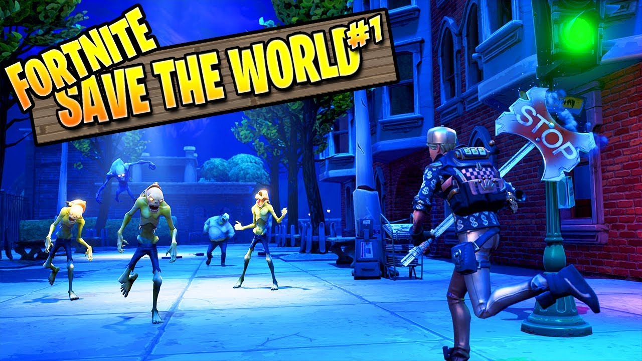 Fortnite Zombies Save The World Episode 1 Fortnite Pve Campaign