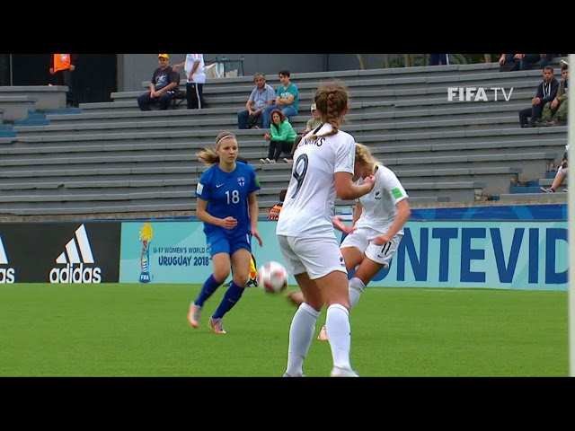 GOAL OF THE TOURNAMENT - NOMINEE - KELLI BROWN (New Zealand)