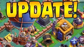 BH7 UPDATE SNEAK PEEK! Drop Ship + Giant Cannon | Clash of Clans