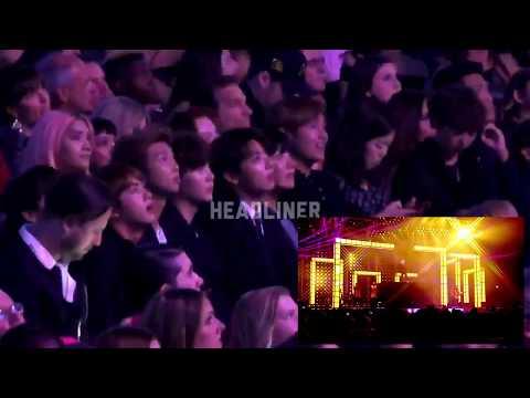 BTS Reaction to Bruno Mars - BBMAs 2017