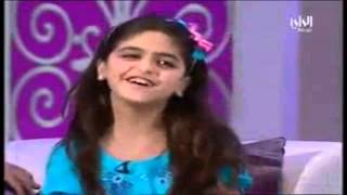 Cute Arab Girl Sings Bollywood Song.