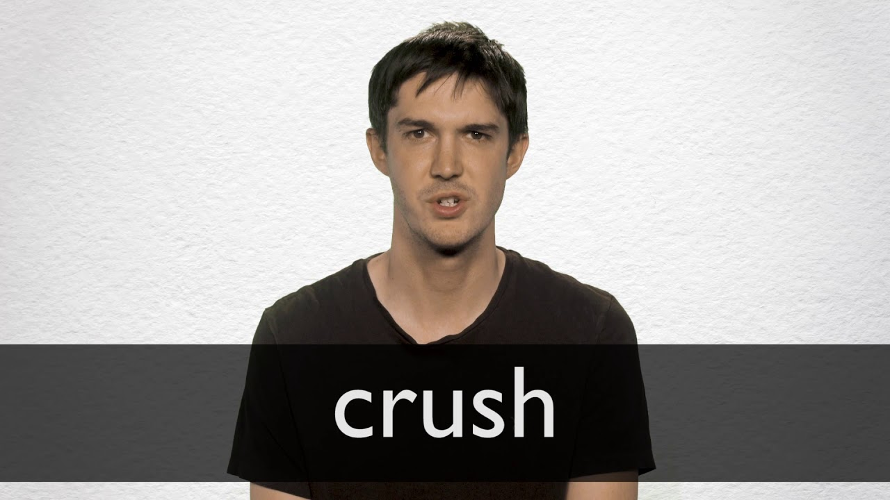 Proper meaning of crush and dating