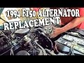 1994 Ford F150 Alternator Replacement - 92-96 Ford Truck