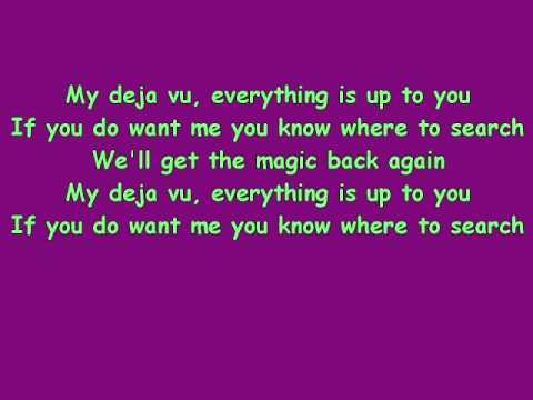 Ace of Base- My deja vu lyrics