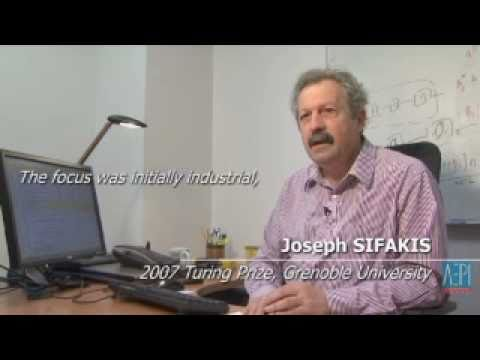 Grenoble-Isere software: Joseph Sifakis, Turing price 2007  interview