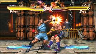 Street Fighter X Tekken Gameplay (PC HD)