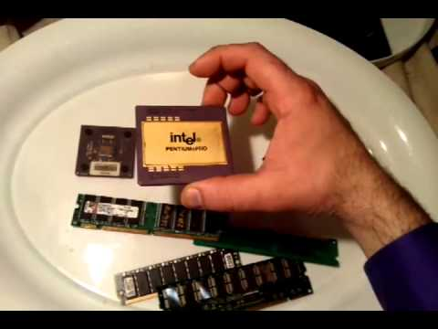 Avi Oziel in: How To Recover Gold From CPU Processors and RAM Memory Integrated Circuit Chips