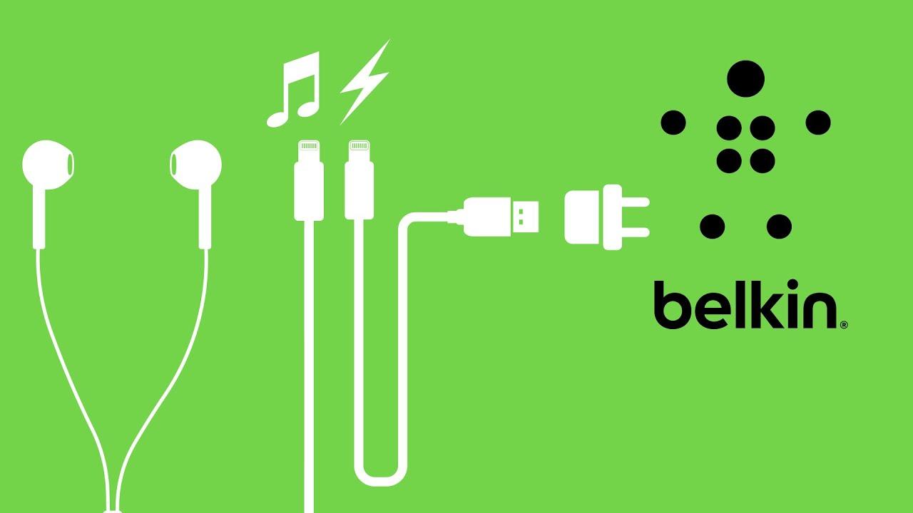 Belkin RockStar™ Lightning-Audio- und Ladeadapter