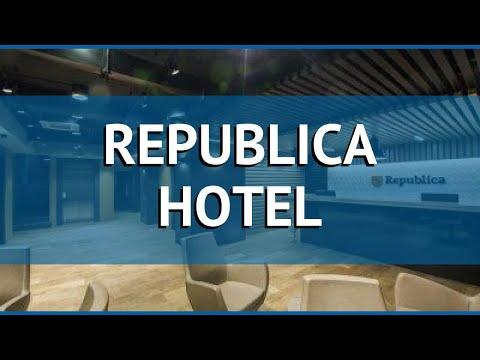 REPUBLICA HOTEL 4* Армения Ереван обзор – отель РЕПУБЛИКА ХОТЕЛ 4* Ереван видео обзор