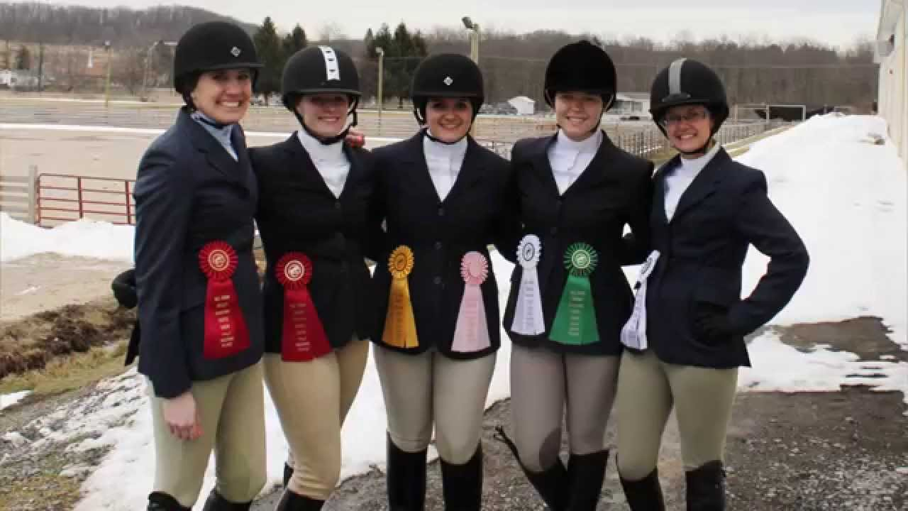 Sru S English Equestrian Club Team Sets Goals For The New