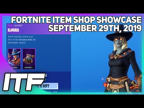 Fortnite Item Shop *NEW* WIZARD EDIT STYLES! [September 29th, 2019] (Fortnite Battle Royale)