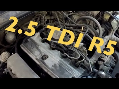 Фото к видео: Последний НОРМАЛЬНЫЙ дизель - 2.5 TDI R5
