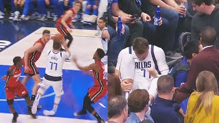 Luka Doncic Hurts His Ankle & Leave With Injury! Mavericks vs Heat 2019 NBA Season