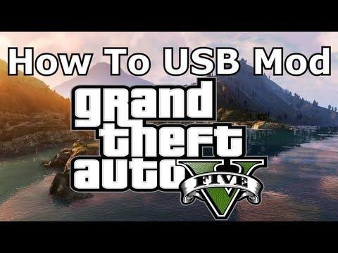 How To USB Mod GTA 5 For Xbox 360 (GTA V)