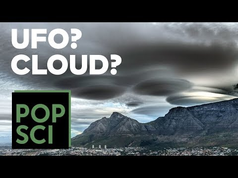 How Lenticular Clouds Form to Look Like UFOs