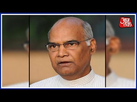 BJP Picks Bihar Governor Ram Nath Kovind As Presidential Can