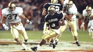 1991 Orange Bowl #1 Colorado vs. #5 Notre Dame part 1 of 2