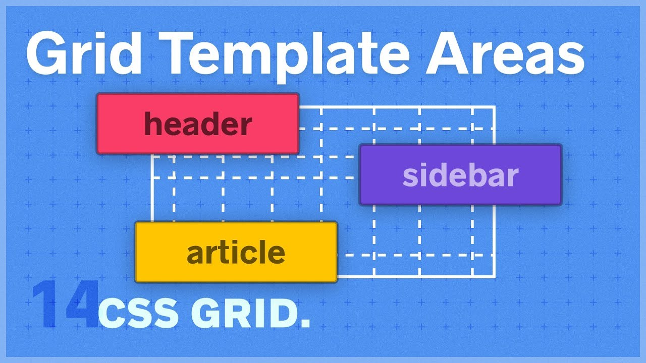 css grid grid template areas 14 of 25 youtube
