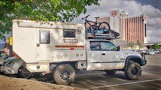 Urban Stealth Camping aт a Casino - Living in a Truck Camper