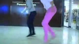 Красивый танец тектоник