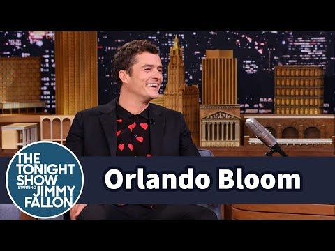 Thumbnail: Orlando Bloom's Kid Thinks He Can Walk Across the Ocean