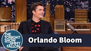 Orlando Bloom's Kid Thinks He Can Walk Across the Ocean