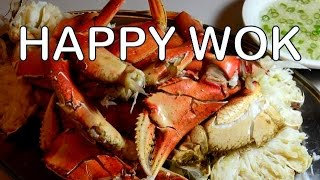 Steamed Crab with Dipping Sauce