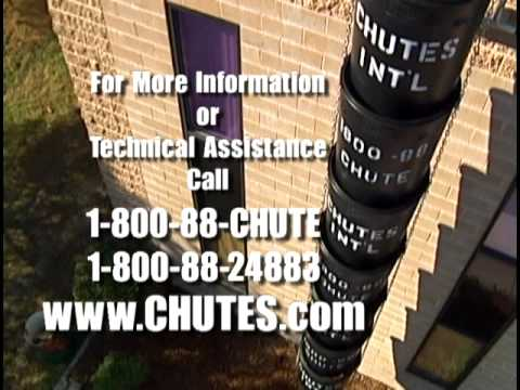 Chutes International Durachute Trash Chute System Youtube
